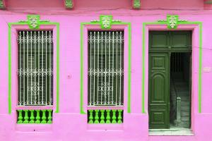 Cuba Fuerte Collection - Havana Pink Façade by Philippe Hugonnard