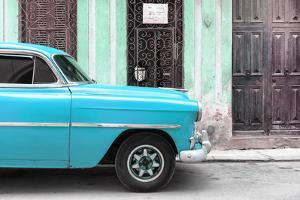 Cuba Fuerte Collection - Havana Turquoise Car by Philippe Hugonnard
