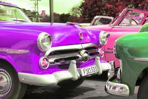 Cuba Fuerte Collection - Havana Vintage Classic Cars II by Philippe Hugonnard