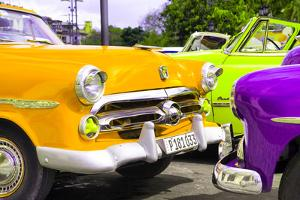 Cuba Fuerte Collection - Havana Vintage Classic Cars III by Philippe Hugonnard
