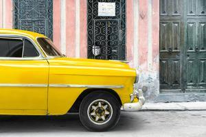 Cuba Fuerte Collection - Havana Yellow Car by Philippe Hugonnard