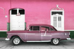 Cuba Fuerte Collection - Old Pink Car by Philippe Hugonnard