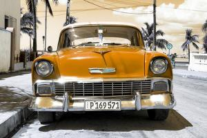 Cuba Fuerte Collection - Orange Chevy by Philippe Hugonnard
