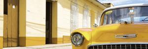 Cuba Fuerte Collection Panoramic - 1955 Chevy Yellow Car by Philippe Hugonnard