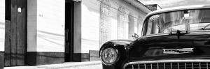 Cuba Fuerte Collection Panoramic BW - 1955 Chevy II by Philippe Hugonnard