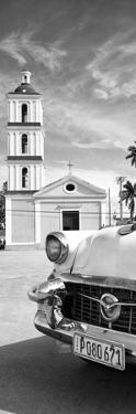Cuba Fuerte Collection Panoramic BW - Church in Santa Clara II by Philippe Hugonnard
