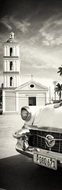 Cuba Fuerte Collection Panoramic BW - Church in Santa Clara by Philippe Hugonnard
