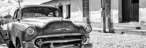 Cuba Fuerte Collection Panoramic BW - Cuban Chevy II by Philippe Hugonnard
