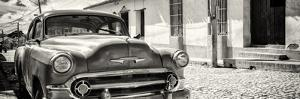 Cuba Fuerte Collection Panoramic BW - Cuban Chevy by Philippe Hugonnard