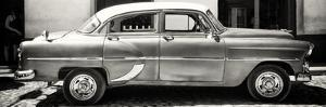 Cuba Fuerte Collection Panoramic BW - Retro Car by Philippe Hugonnard