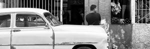 Cuba Fuerte Collection Panoramic BW - Street Scene by Philippe Hugonnard