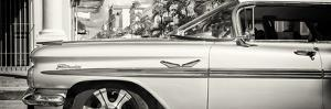 """Cuba Fuerte Collection Panoramic BW - Vintage Car """"Streetmachine"""" by Philippe Hugonnard"""