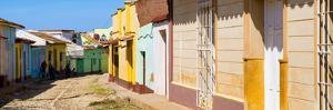 Cuba Fuerte Collection Panoramic - Colorful Architecture Trinidad III by Philippe Hugonnard