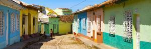 Cuba Fuerte Collection Panoramic - Colorful Architecture Trinidad IV by Philippe Hugonnard