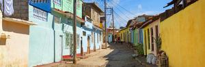 Cuba Fuerte Collection Panoramic - Colorful Architecture Trinidad by Philippe Hugonnard
