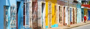Cuba Fuerte Collection Panoramic - Colorful City by Philippe Hugonnard