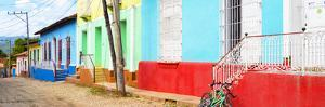 Cuba Fuerte Collection Panoramic - Colorful Cuban Houses by Philippe Hugonnard