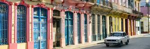 Cuba Fuerte Collection Panoramic - Colorful Facades Havana by Philippe Hugonnard