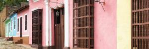 Cuba Fuerte Collection Panoramic - Colorful Facades Trinidad by Philippe Hugonnard