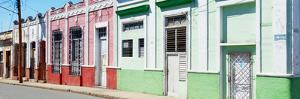 Cuba Fuerte Collection Panoramic - Colorful Facades by Philippe Hugonnard
