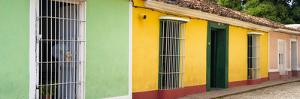 Cuba Fuerte Collection Panoramic - Colorful Street Scene II by Philippe Hugonnard