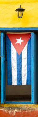 Cuba Fuerte Collection Panoramic - Cuban Flag by Philippe Hugonnard