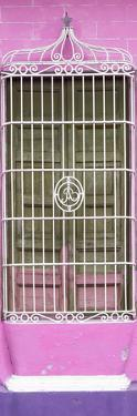 Cuba Fuerte Collection Panoramic - Cuban Pink Window by Philippe Hugonnard