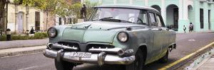 Cuba Fuerte Collection Panoramic - Cuban Retro Car by Philippe Hugonnard