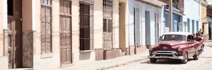 Cuba Fuerte Collection Panoramic - Cuban Urban Scene II by Philippe Hugonnard