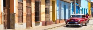 Cuba Fuerte Collection Panoramic - Cuban Urban Scene by Philippe Hugonnard