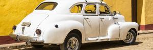Cuba Fuerte Collection Panoramic - Cuban White Car by Philippe Hugonnard
