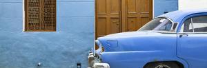 Cuba Fuerte Collection Panoramic - Havana Blue Street by Philippe Hugonnard