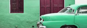 Cuba Fuerte Collection Panoramic - Havana Green Street by Philippe Hugonnard