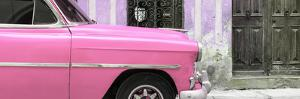 Cuba Fuerte Collection Panoramic - Havana Pink Car by Philippe Hugonnard