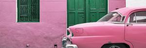 Cuba Fuerte Collection Panoramic - Havana Pink Street by Philippe Hugonnard