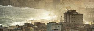 Cuba Fuerte Collection Panoramic - Havana Sunrise IV by Philippe Hugonnard