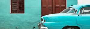 Cuba Fuerte Collection Panoramic - Havana Turquoise Street by Philippe Hugonnard