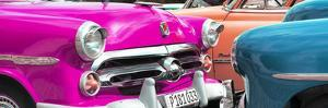 Cuba Fuerte Collection Panoramic - Havana Vintage Classic Cars IV by Philippe Hugonnard