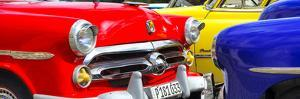 Cuba Fuerte Collection Panoramic - Havana Vintage Classic Cars by Philippe Hugonnard