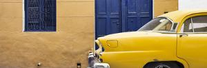 Cuba Fuerte Collection Panoramic - Havana Yellow Street by Philippe Hugonnard