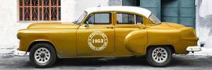 Cuba Fuerte Collection Panoramic - Honey Pontiac 1953 Original Classic Car by Philippe Hugonnard