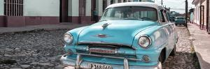 Cuba Fuerte Collection Panoramic - Plymouth Classic Car II by Philippe Hugonnard