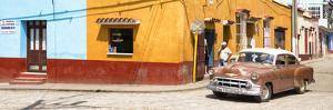 Cuba Fuerte Collection Panoramic - Trinidad Street Scene by Philippe Hugonnard