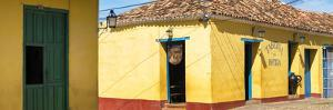 Cuba Fuerte Collection Panoramic - Yellow Facades in Trinidad II by Philippe Hugonnard