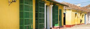 Cuba Fuerte Collection Panoramic - Yellow Facades in Trinidad by Philippe Hugonnard