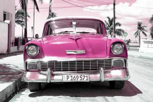 Cuba Fuerte Collection - Pink Chevy by Philippe Hugonnard