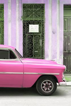 Cuba Fuerte Collection - Pink Classic Car by Philippe Hugonnard