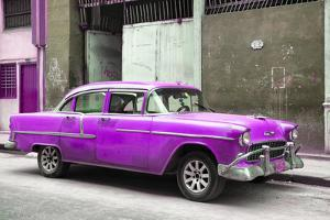 Cuba Fuerte Collection - Purple Chevy by Philippe Hugonnard
