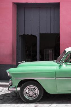 Cuba Fuerte Collection - Retro Vert Car II by Philippe Hugonnard