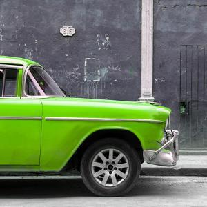 Cuba Fuerte Collection SQ - 615 Street and Green Car by Philippe Hugonnard